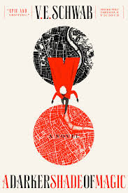 A Darker Shade of Magic book cover by V E Schwab