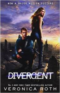 Divergent by Veronica Roth book cover