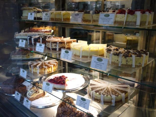 Hobson's Patisserie Stratford cakes