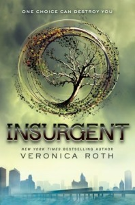 Insurgent by Veronica Roth book cover