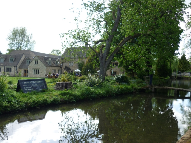 Lower Slaughter - the Eye stream