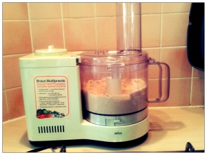 My trusty old food processor!