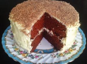 Red velvet cake cut1