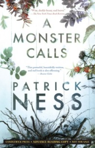 A Monster Calls by Patrick Ness book cover