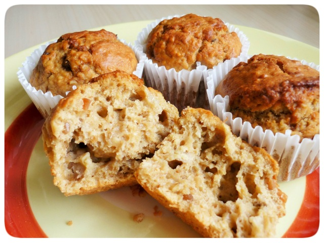 Banana and peanut butter muffins group 1