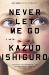 Never Let Me Go bNever Let Me Go by Kazuo Ishiguro book cover