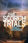 The Scorch Trials by James Dashner book cover