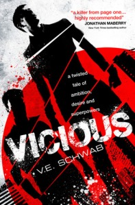 Vicious by V.E. Schwab book cover