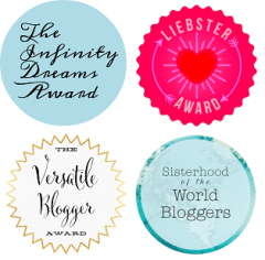 Blogging Awards Badges