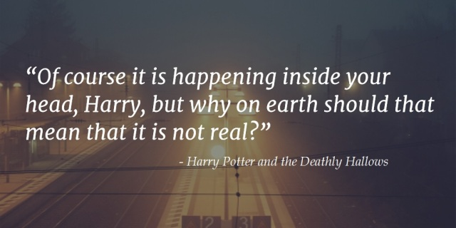 Harry Potter and the Deathly Hallows quote