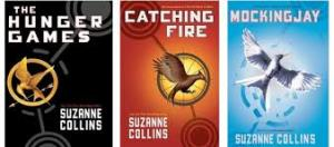 Hunger games trilogy book covers