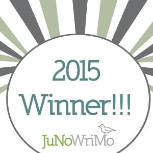 JuNoWriMo 2015 Winner badge