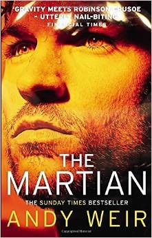 The Martian by Andy Weir book cover