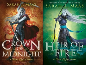 Crown of Midnight and Heir of Fire by Sarah J. Maas