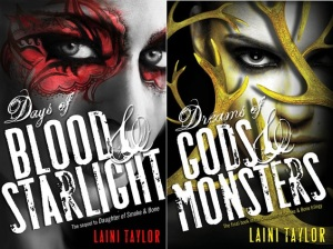 Daughter of Smoke and Bone 2 and 3 by Laini Taylor