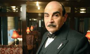 David Suchet as Poirot murder on the orient express