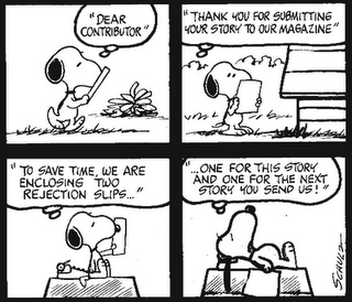 Snoopy rejection slips