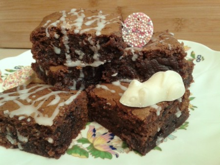 After Eight mint chocolate brownies 5