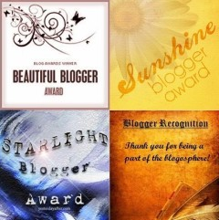 Blogging Award Badges 2