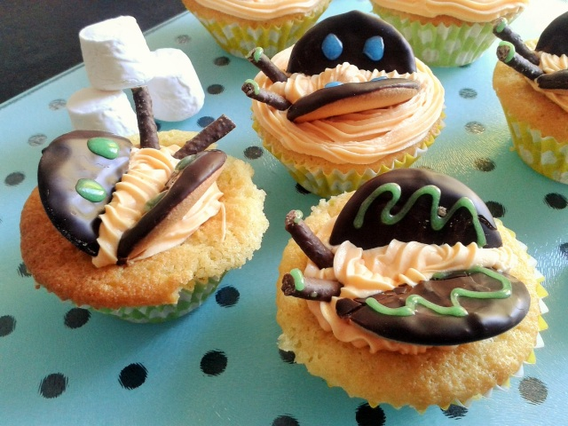 Choc orange butterfly cakes 3
