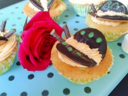 Choc orange butterfly cakes 4