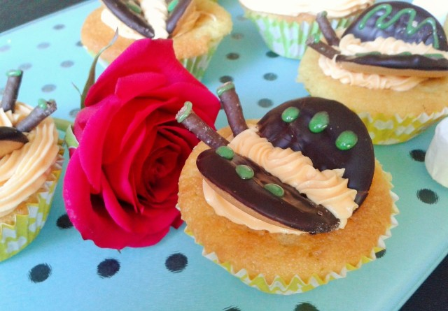 Chocolate orange butterfly cakes 4