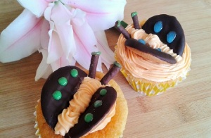 Easy chocolate orange butterfly cakes 2 featured