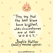 Howl's Moving Castle quote sophie