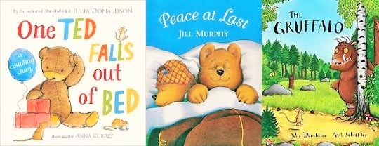 Julia Donaldson and Jill Murphy classics