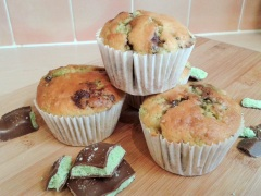 Mint chocolate muffins 3