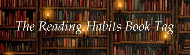 reading habits book tag image