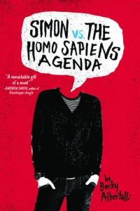 Simon vs the Homo Sapiens Agenda by Becky Albertalli book cover