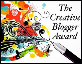 The Creative Blogger Award badge