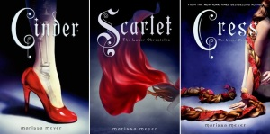 The Lunar Chronicles by Marissa Meyer covers