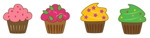 Cupcakes images cartoon for blog
