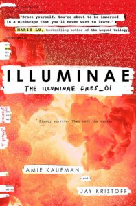 Illuminae by Amie Kaufman and Jay Kristoff book cover