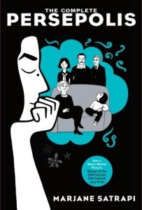 Persepolis by Marjane Satrapi book cover