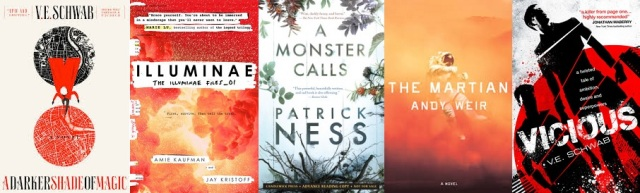 Top five books of 2015 Claire Huston