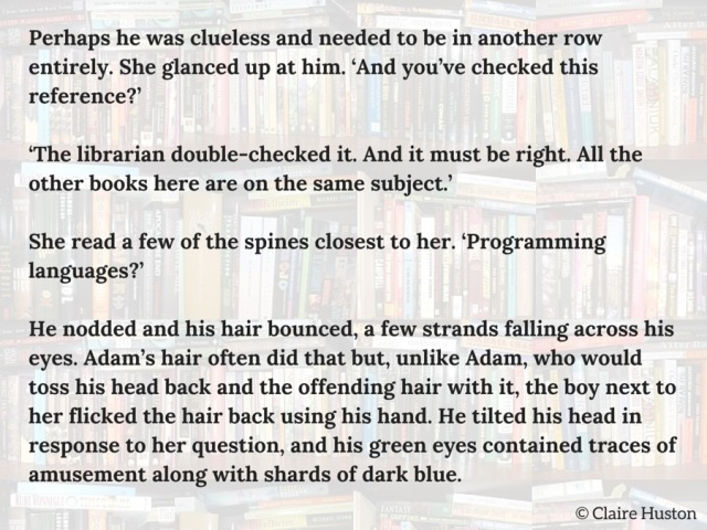 777 challenge snippet from Plan for the Worst by Claire Huston