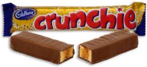 Cadbury's crunchie bars