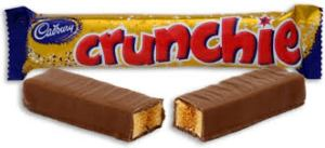 Cadbury's crunchie bars