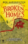 Broken Homes Peter Grant 4 by Ben Aaronovitch book cover