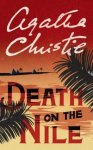 Death on the Nile by Agatha Christie book cover