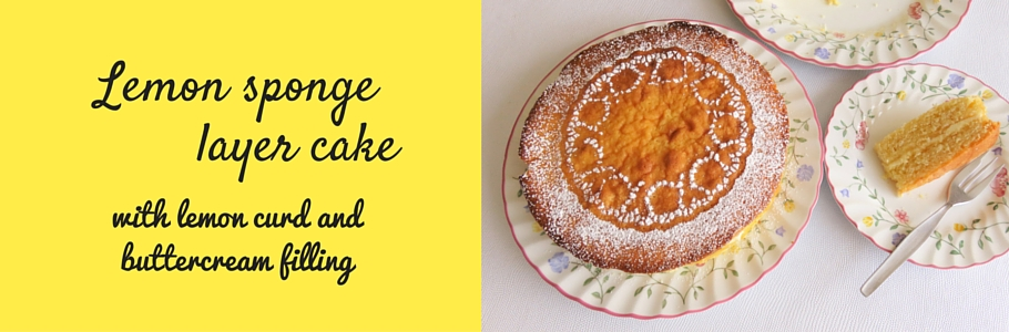 Quantities Of Ingredients For A  Round Sponge Cake