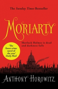 Moriarty by Anthony Horowitz book cover