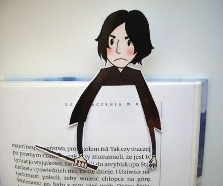 Snape - Harry Potter bookmark