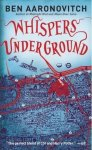 Whispers Underground by Ben Aaronovitch book cover