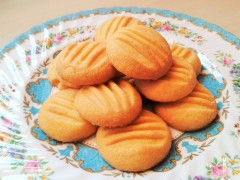 Make melting moments custard powder cookies biscuits recipe