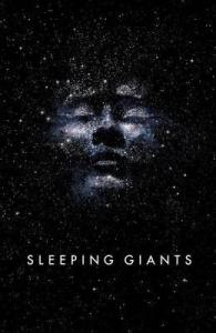 Sleeping Giants by Sylvain Neuvel UK book cover