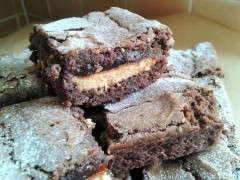 Jaffa Cake chocolate orange brownies recipe